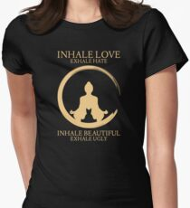 Inhale exhale Yoga With Cat T-Shirt