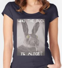 Who the f*ck is Alice? Women's Fitted Scoop T-Shirt