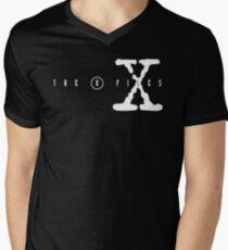 X FILES Men's V-Neck T-Shirt