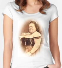 Tea For Two Women's Fitted Scoop T-Shirt