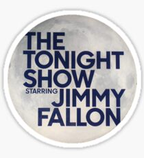 Tonight Show Starring Jimmy Fallon Sticker