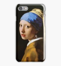 The girl with a pearl earring By Carel Fabritius iPhone Case/Skin