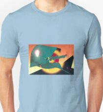 Psychedelic Liftoff Unisex T-Shirt