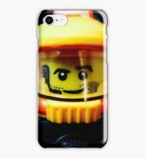 Lego Space Miner minifigure iPhone Case/Skin