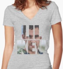 Lil Kev (impact) Women's Fitted V-Neck T-Shirt