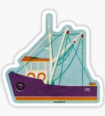 Fishing Trawlers Sticker