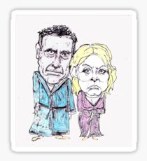 Mitt and Anne Romney- after the election Sticker