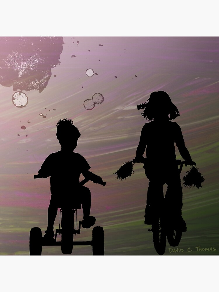 A Bike Ride With My Little Brother by randomarthouse