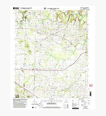 USGS TOPO Map Alabama AL Danville 303644 2000 24000 Photographic Print
