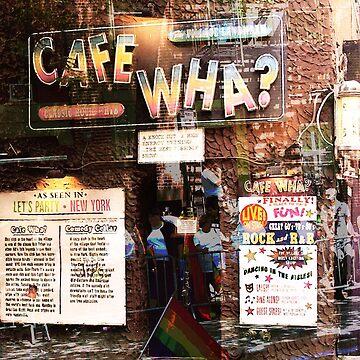 Cafe Wha, NYC, NY by ekturner
