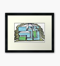 Concept Drawing Framed Print