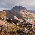 Mighty Slioch by Christopher Cullen