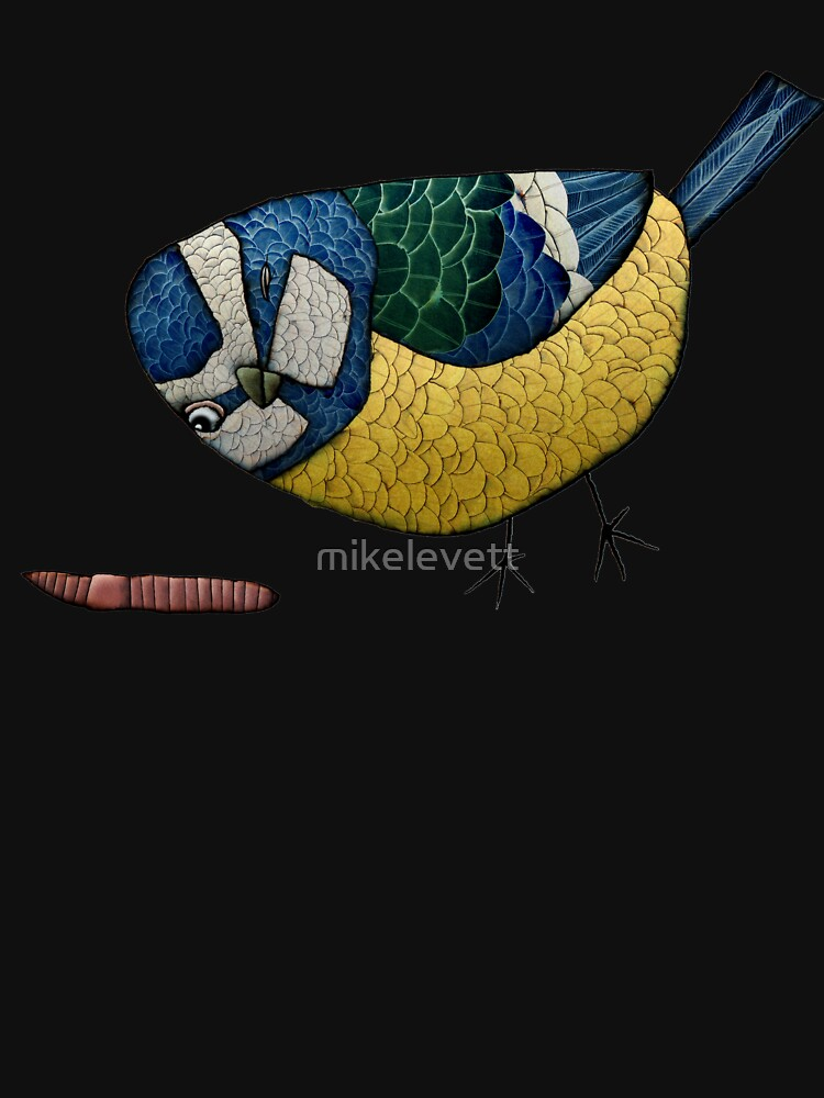 Blue Tit by mikelevett