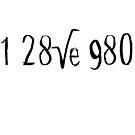 Ich liebe dich 128√e980 von Ben Newton