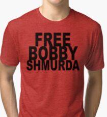 FREE BOBBY SHMURDA Tri-blend T-Shirt