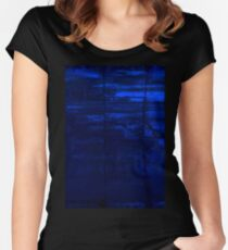 Blocks Of Blue Women's Fitted Scoop T-Shirt