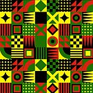 Rasta Pattern by LionTuff79