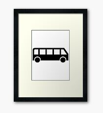 Bus Framed Print