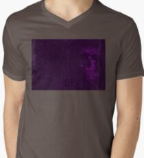 Purple Decay Men's V-Neck T-Shirt