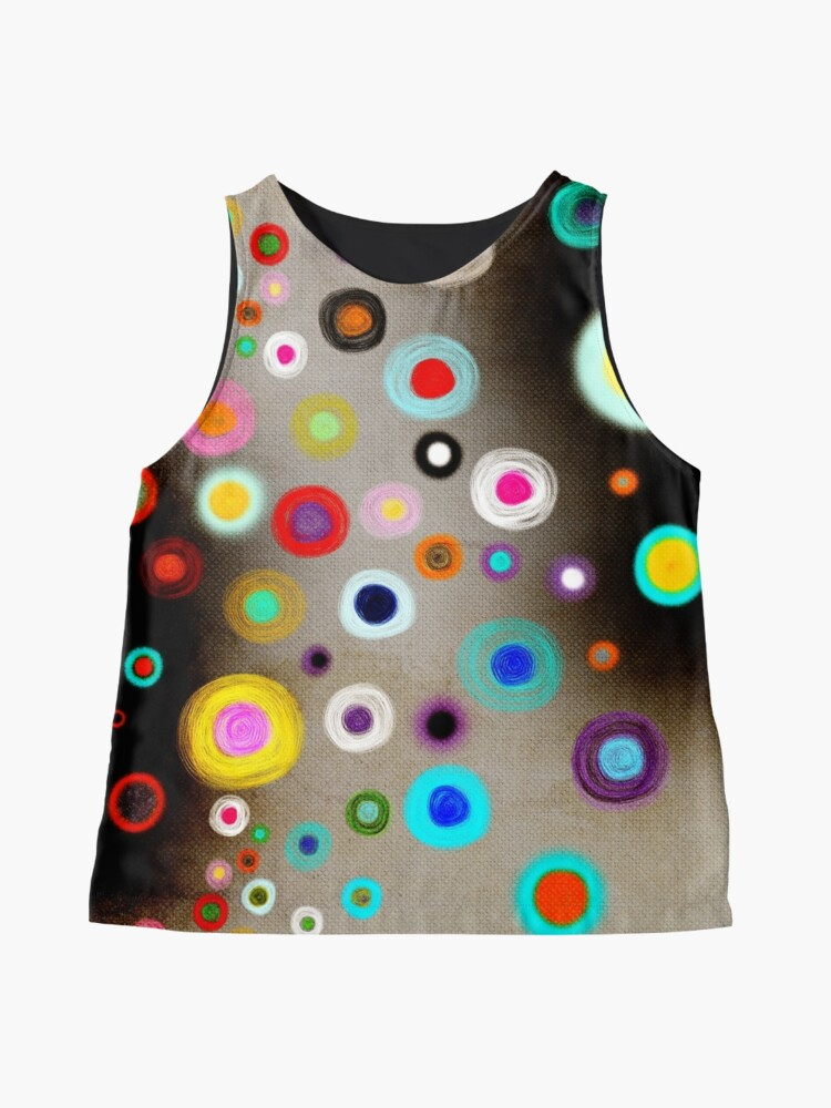 Alternate view of Poppies colorful Snow Landscape Sleeveless Top