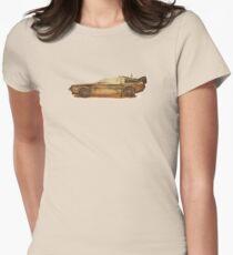 Lost in the Wild Wild West! (Golden Delorean Doubleexposure Art) T-Shirt