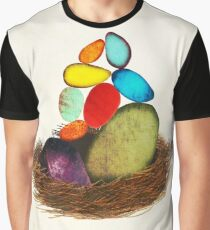 My Colorful Bird Babies Graphic T-Shirt
