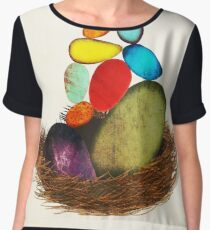 My Colorful Bird Babies Chiffon Top