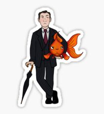 Living in a world of Goldfish Sticker