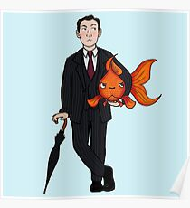 Living in a world of Goldfish Poster