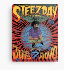 Steez Day 2016 Metal Print