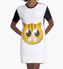 Cute cat graphics Graphic T-Shirt Dress