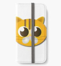 Cute cat graphics iPhone Wallet/Case/Skin