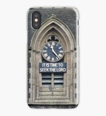 11:23. Its Time to Seek the Lord iPhone Case/Skin