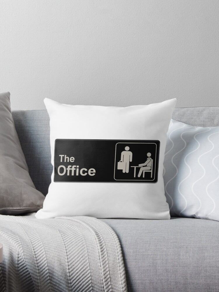 Quot The Office Quot Throw Pillows By Scscjsjo Redbubble