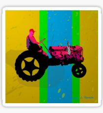 The Tractor Sticker