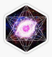 Helix Nebula | Metatron Sacred Geometry Sticker Sticker