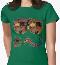 Psychedelic Art - Sixties - Jefferson Airplane Womens Fitted T-Shirt