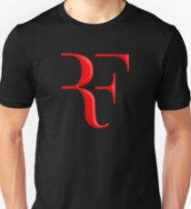 rf, roger federer, roger, federer, tennis, wimbledon, grass, tournament, ball, legend, sport, australia, nadal, net, cool, logo, perfect. Unisex T-Shirt