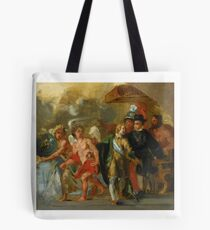 Eugène Delacroix  FRENCH THE STAGE OF ARCHDUCHESS ISABELLA (AFTER RUBENS) Tote Bag