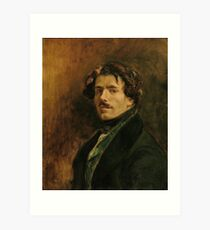EUGENE DELACROIX, (), SELF PORTRAIT Art Print