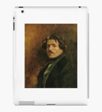 EUGENE DELACROIX, (), SELF PORTRAIT iPad Case/Skin