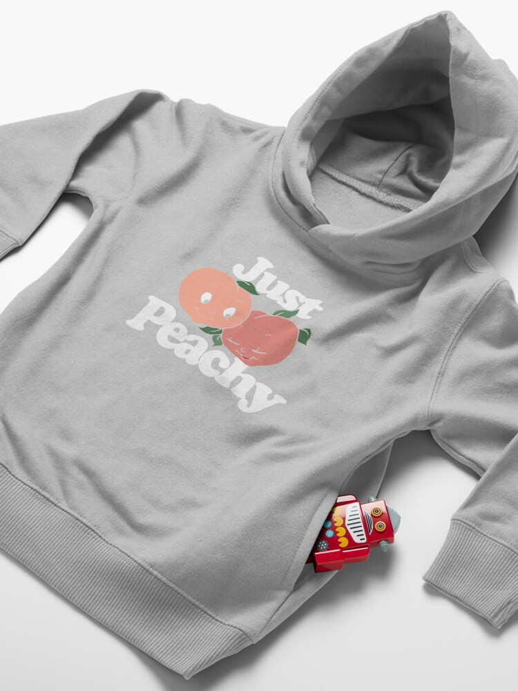 Alternate view of Just peachy Toddler Pullover Hoodie