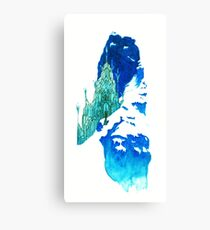 Crystallize Canvas Print