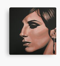 Barbra Streisand painting Canvas Print