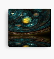 Ancient Star Chart Canvas Print