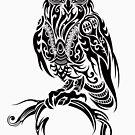 Tribal Owl by TurkeysDesign