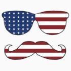 Patriotic Funny Face by ArtVixen