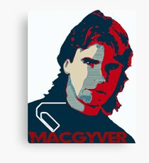 MacGyver: Operation Paperclip Canvas Print