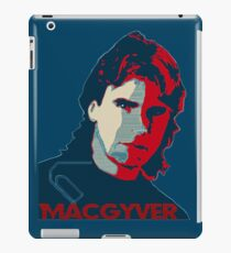 MacGyver: Operation Paperclip iPad Case/Skin