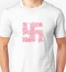 Swastika with Birds of Peace Symbol T-Shirt